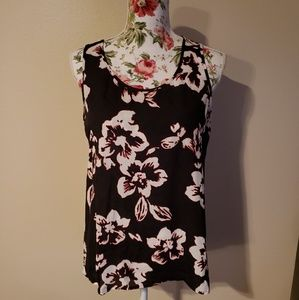 Express Floral Short Sleeve Blouse